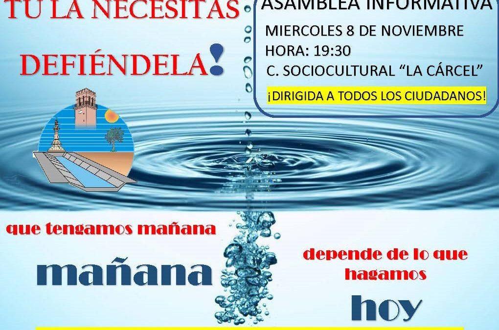 El problema del agua reune a los regantes de Totana